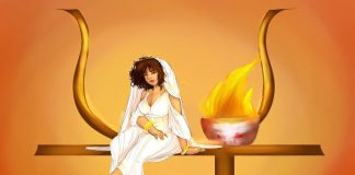 diosa hestia diosa del hogar