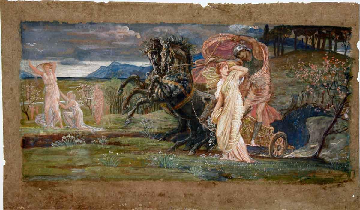 diosa demeter y persefone