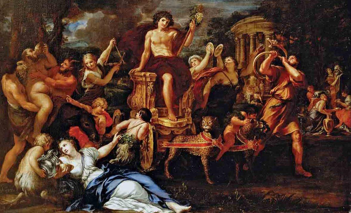 dios del vino dionisio