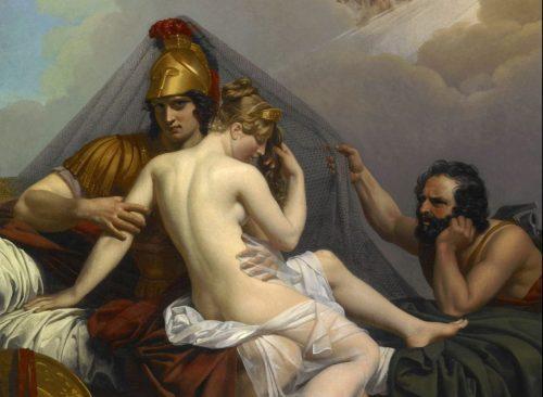 dios hefesto y diosa afrodita