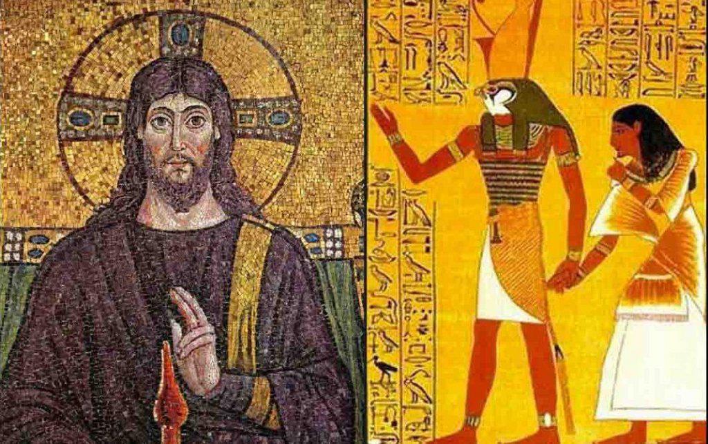 dios horus y jesus